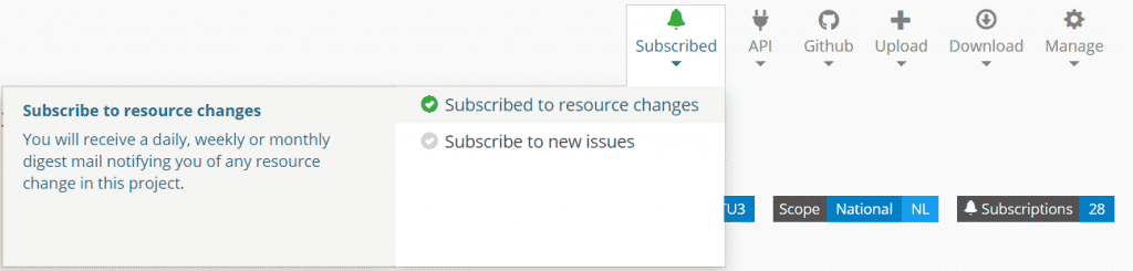 Subscribe location