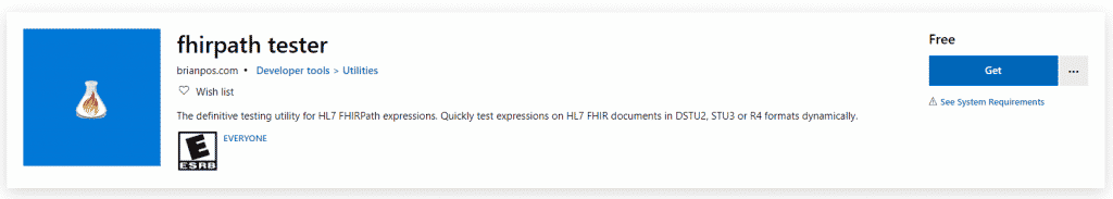 FHIR path tester for FHIR validation