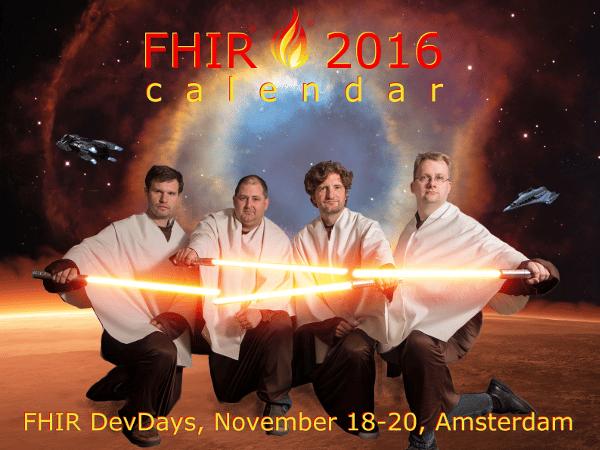 FHIR Calendar 2016
