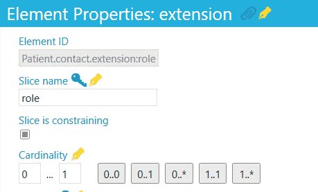 Element properties